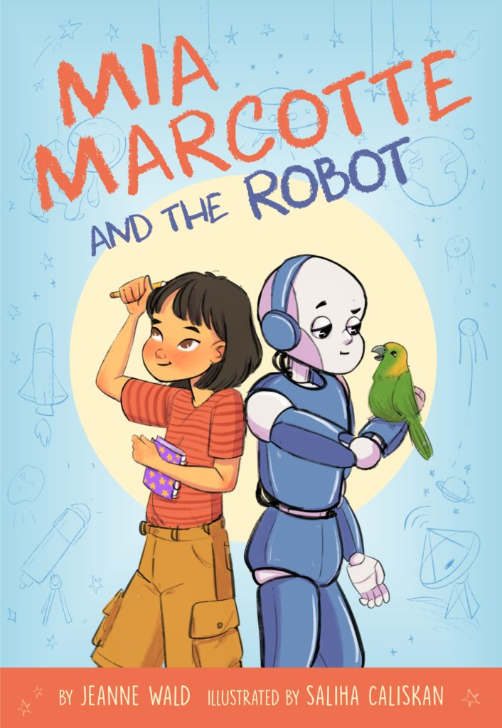 Mia Marcotte and the Robot book cover