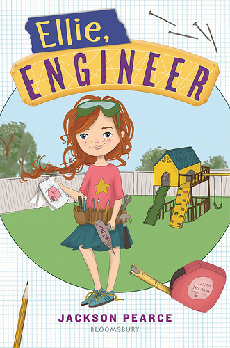 Cover of the STEM chapter book Ellie, Engineer by Jackson Pearce