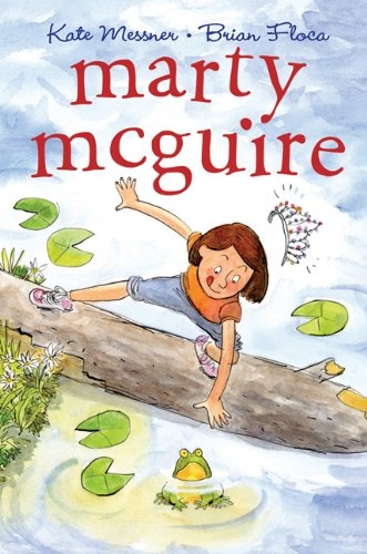 Cover of the STEM chapter book Marty McGuire by Kate Messner