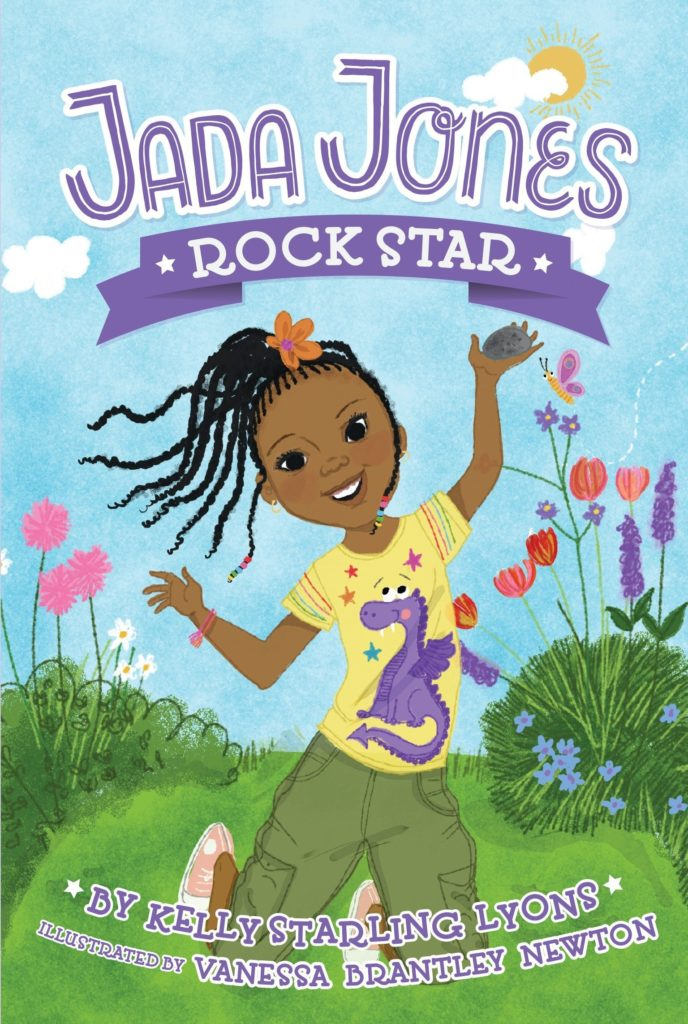 Cover of the STEM chapter book Jada Jones: Rock Star by Kelly Starling Lyons