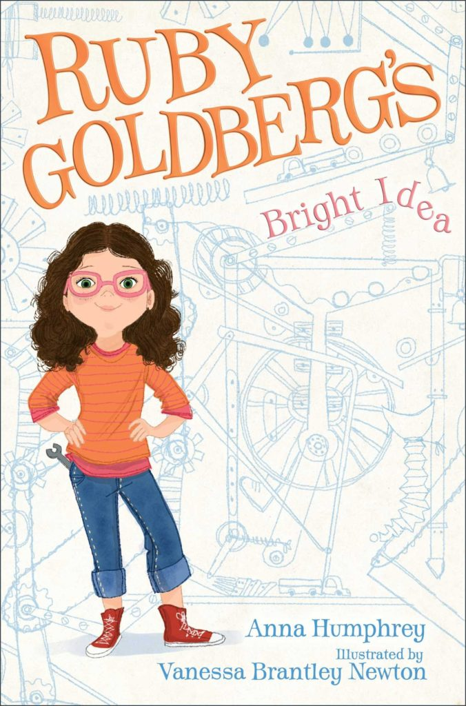 "Cover of the STEM chapter book ""Ruby Goldberg's Bright Idea"" by Anna Humphrey"