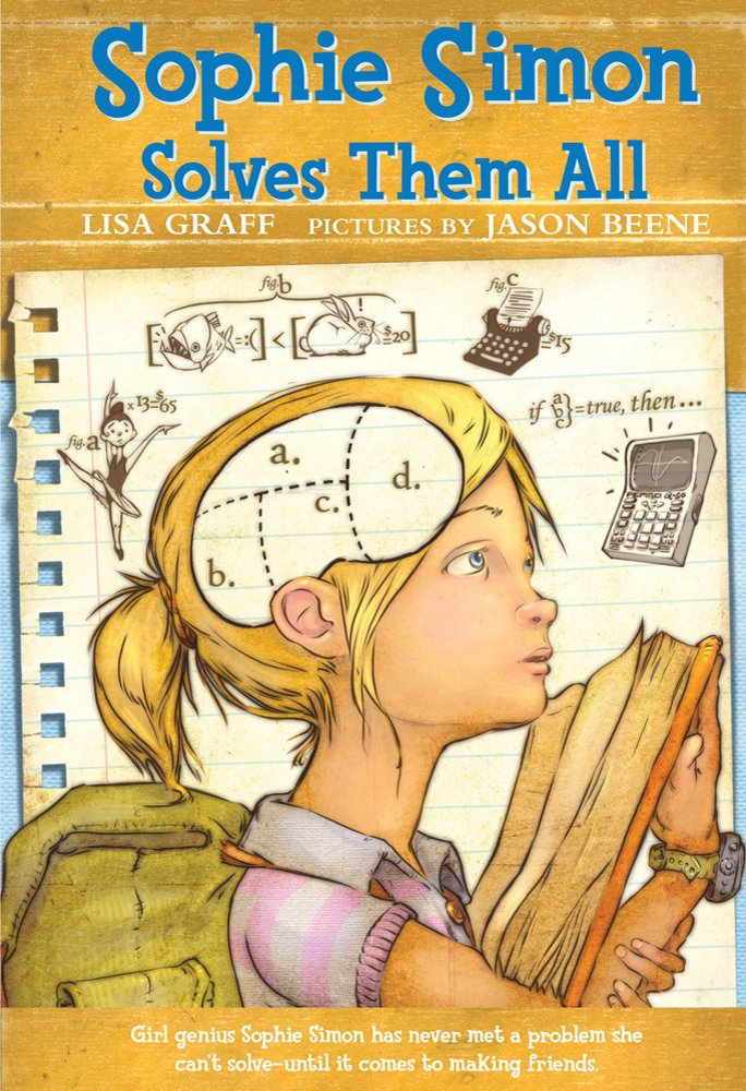 Cover of the STEM chapter book Sophie Simon Solves Them All by Lisa Graff