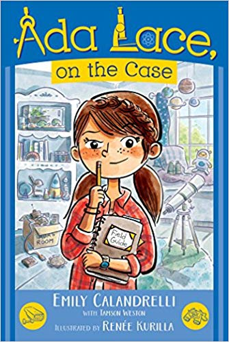 Ada Lace, on the Case book cover