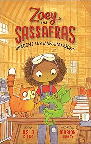 Dragons and Marshmallows; Zoey and Sassafras series