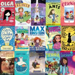 15 STEM girls middle-grade books