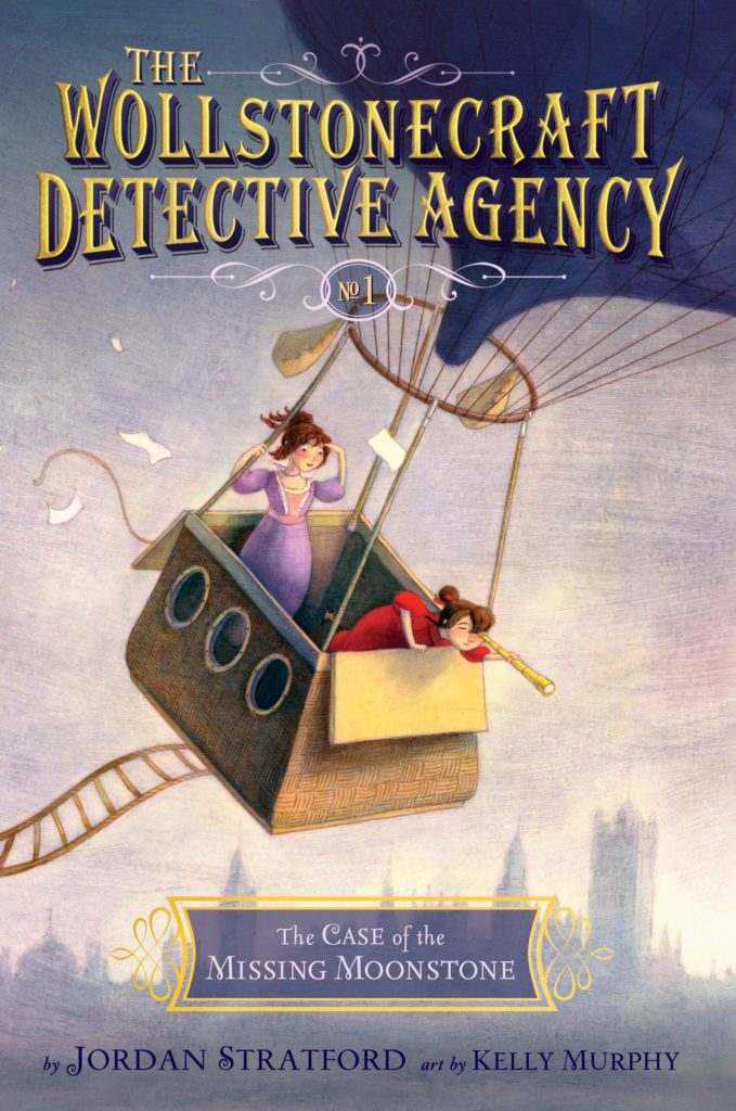 The Wollstonecraft Detective Agency book The Case of the Missing Moonstone