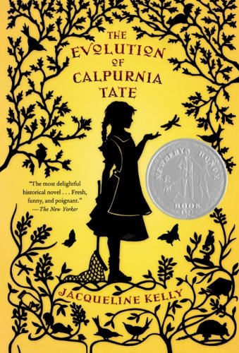 STEM book The Evolution of Calpurnia Tate by Jaqueline Kelly