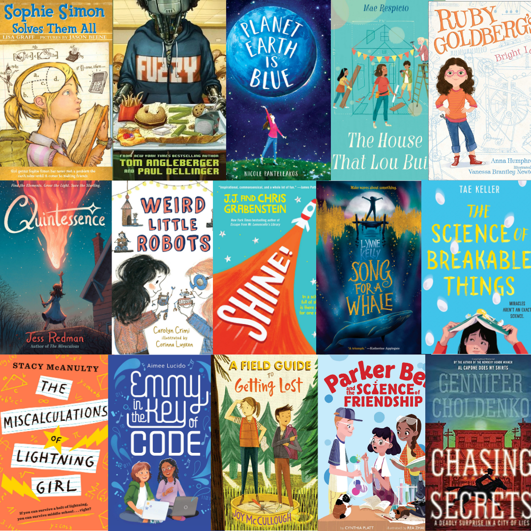 15 standalone books about STEM girls