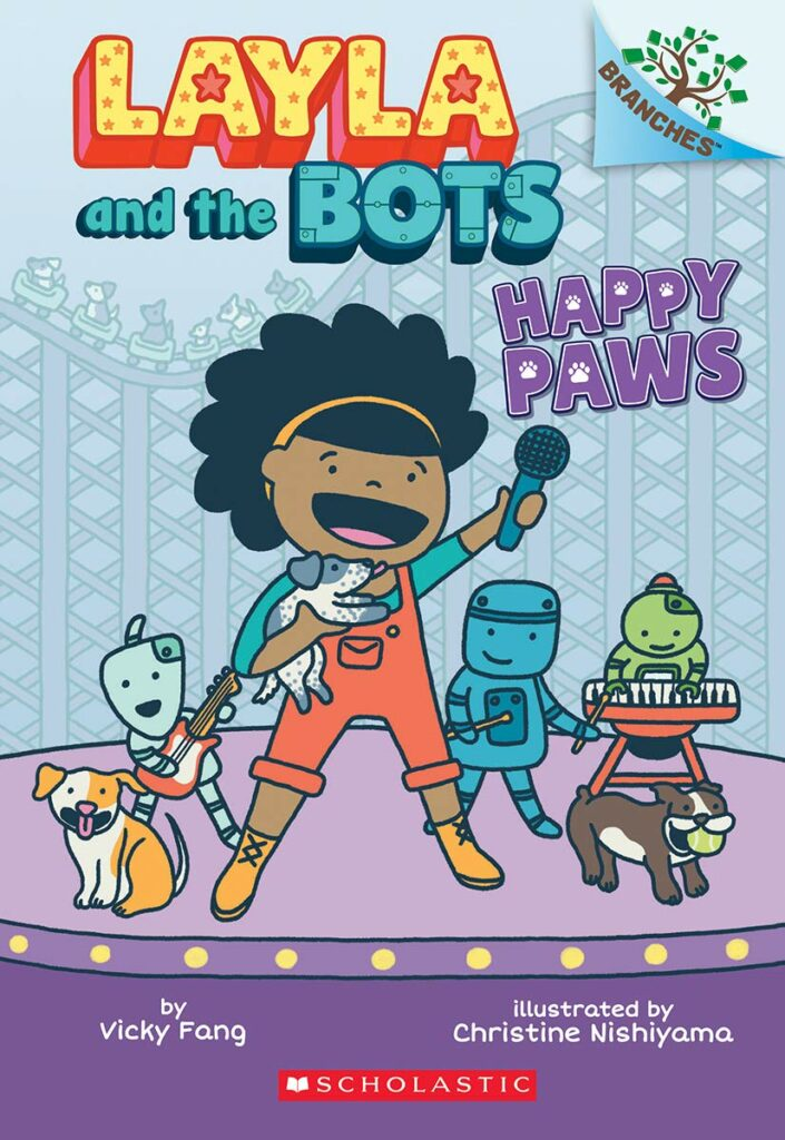 Layla and the Bots (series) by Vicky Fang